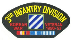 3rd Infantry Division Korean War Veteran Patches
